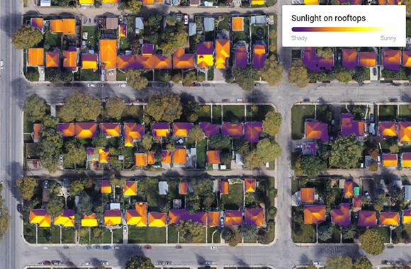 Solar Rooftop Potential Tool